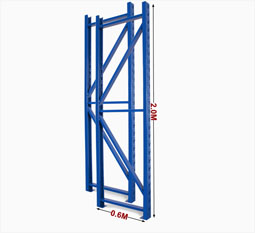 "14' x 42"" Uprights for Pallet Racks"