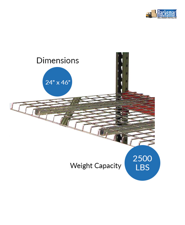 new-pallet-rack-wire-decks-for-warehouse-racking-24x46-width-24-inches-depth-46-inches-2500-lbs-weight-capacity