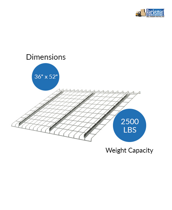 new-pallet-rack-wire-decks-for-warehouse-racking-36x52-width-36-inches-depth-52-inches-2500-lbs-weight-capacity