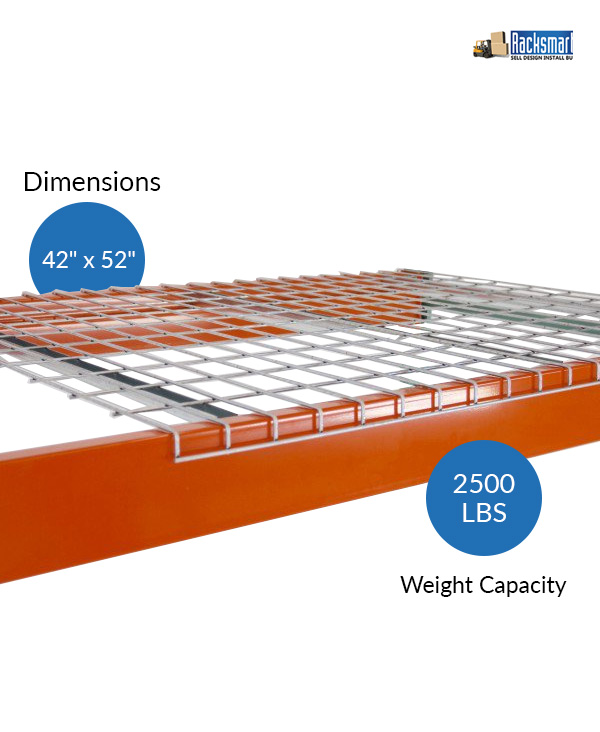 new-pallet-rack-wire-decks-for-warehouse-racking-42x52-width-42-inches-depth-52-inches-2500-lbs-weight-capacity