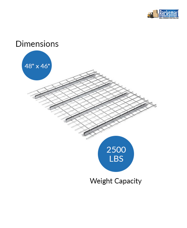 new-pallet-rack-wire-decks-for-warehouse-racking-48x46-width-48-inches-depth-46-inches-2500-lbs-weight-capacity