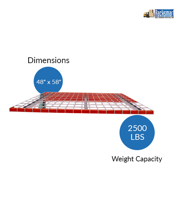 new-pallet-rack-wire-decks-for-warehouse-racking-48x58-width-48-inches-depth-58-inches-2500-lbs-weight-capacity